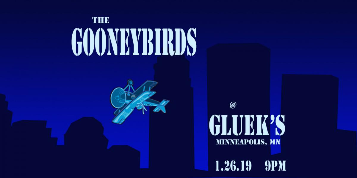 The Gooneybirds at Glueks bar Jan 26, 2019